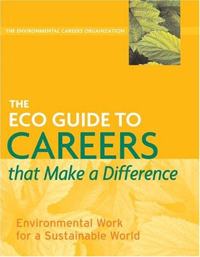 Download The ECO Guide to Careers that Make a Difference