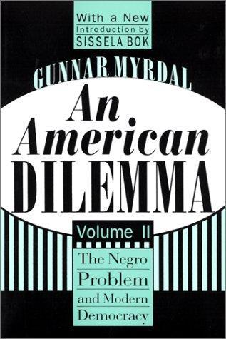 Download An American dilemma