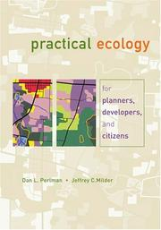 Practical Ecology For Planners, Developers, And Citizens PDF Download