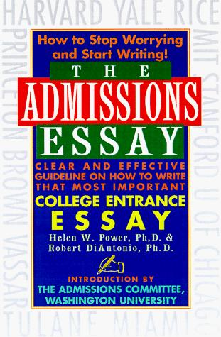 Download The admissions essay