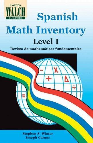 Spanish Math Inventory