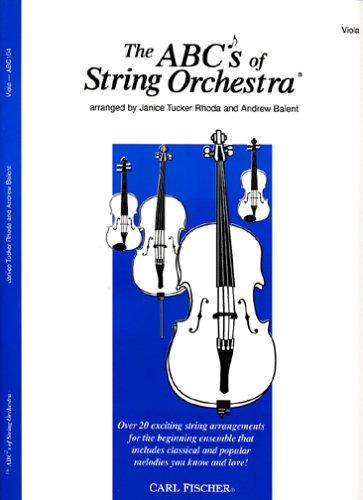 The ABCs of String Orchestra, Level 1