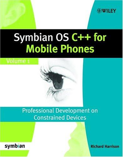 Symbian OS C++ for Mobile Phones (Symbian Press)