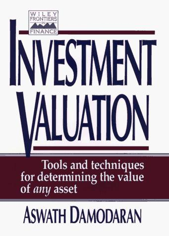 Download Investment Valuation