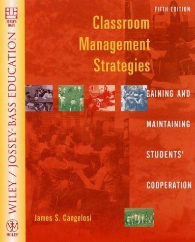 Download Classroom management strategies