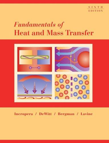 Fundamentals of heat and mass transfer.