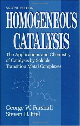 Download Homogeneous catalysis