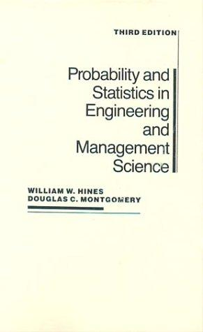 Download Probability and statistics in engineering and management science