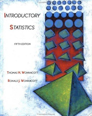 Download Introductory statistics