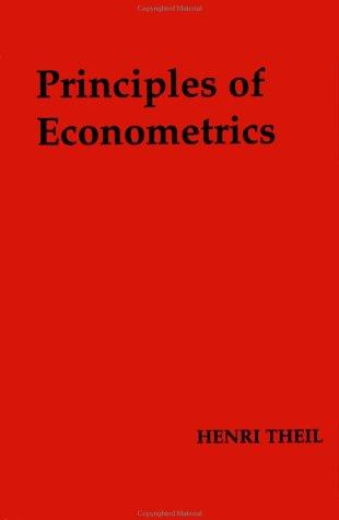 Download Principles of econometrics.