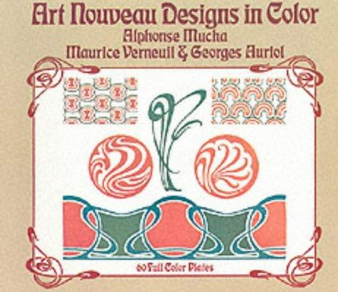 Art nouveau designs in color by M. P. Verneuil
