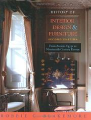 History Of Interior Design & Furniture: From Ancient Egypt To Nineteenth-Century Europe PDF Download