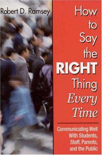 Download How to Say the Right Thing Every Time