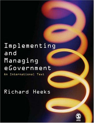 Download Implementing and Managing eGovernment