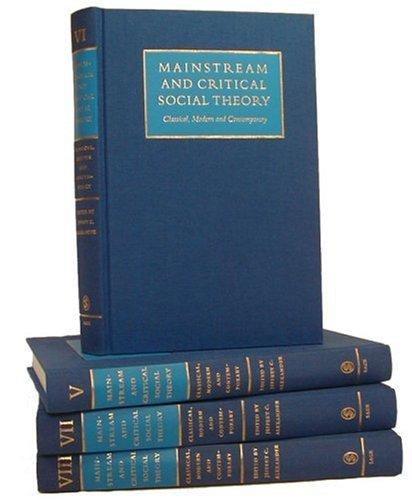 Download Mainstream and Critical Social Theory