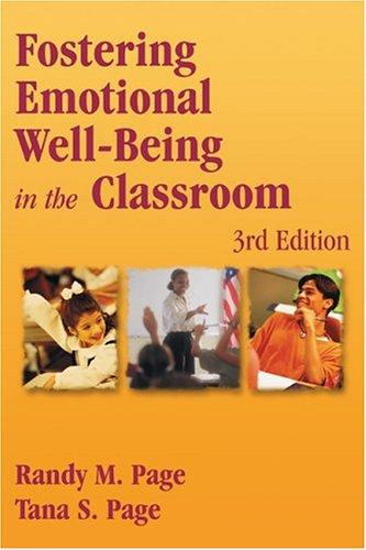 Download Fostering emotional well-being in the classroom