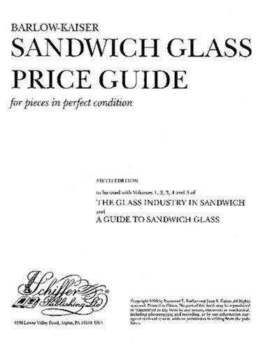 Download Barlow-Kaiser Sandwich glass price guide for pieces in perfect condition.