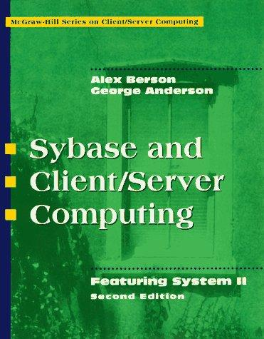 Download Sybase and client/server computing