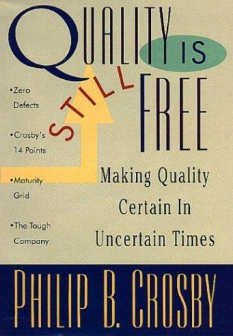 Quality Is Still Free