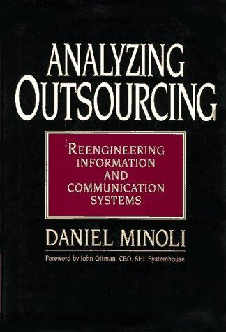 Download Analyzing outsourcing