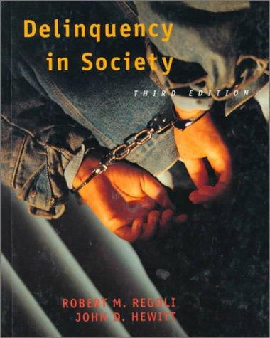 Download Delinquency in society