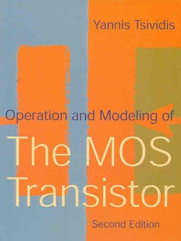 Download Operation and modeling of the MOS transistor