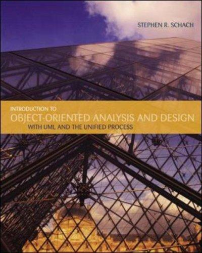 Introduction to Object-Oriented Analysis and Design