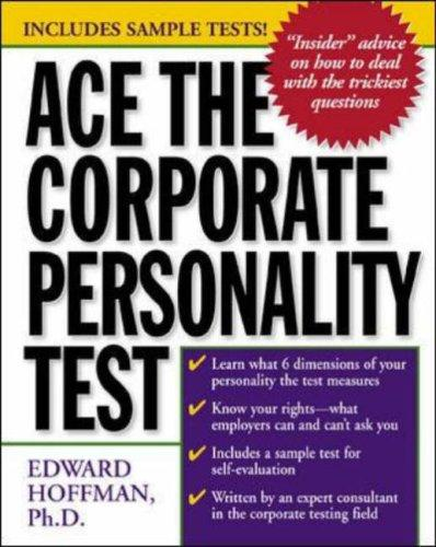 Download Ace the Corporate Personality Test