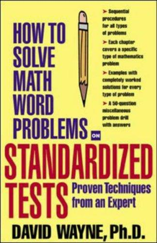 Download How to Solve Math Word Problems on Standardized Tests