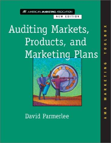 Auditing Markets, Products, and Marketing Plans