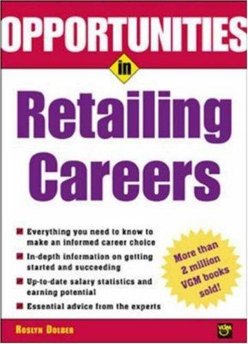 Download Opportunities in Retailing Careers