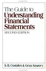 The Guide To Understanding Financial Statements PDF Download