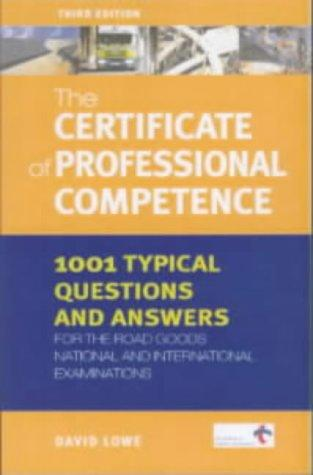 Download The Certificate of Professional Competence