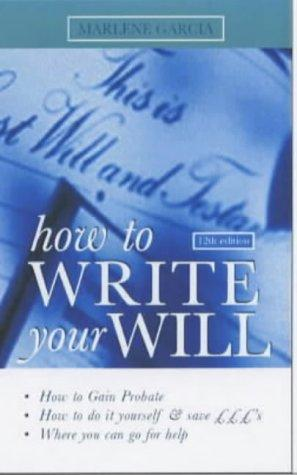 Download How to Write Your Will