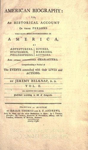 Download American biography