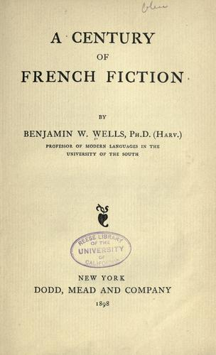 A century of French fiction
