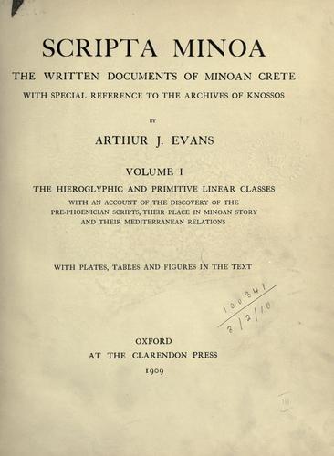Scripta Minoa