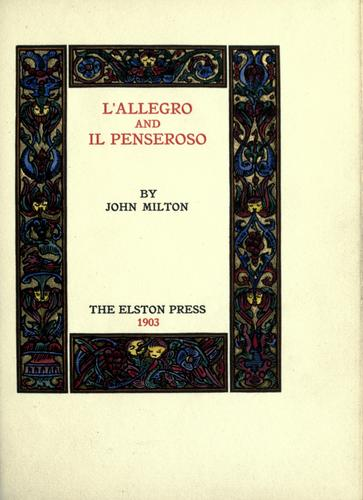 L' Allegro and Il Penseroso