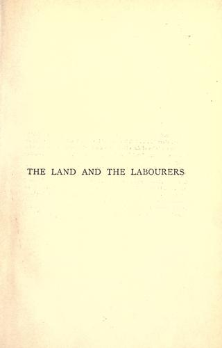 Download The land and the labourers