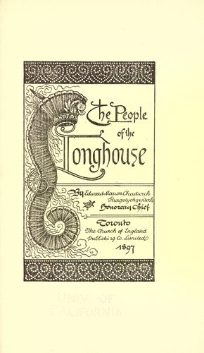 Download The people of the longhouse