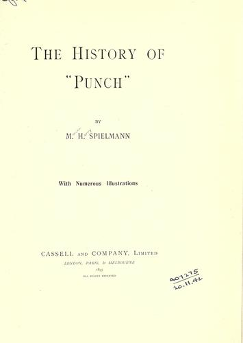 """Download The history of """"Punch""""."""