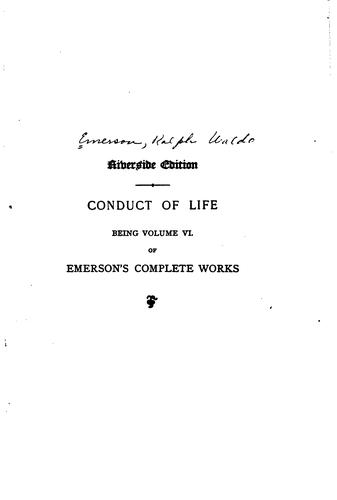 Download Emerson's Complete Works