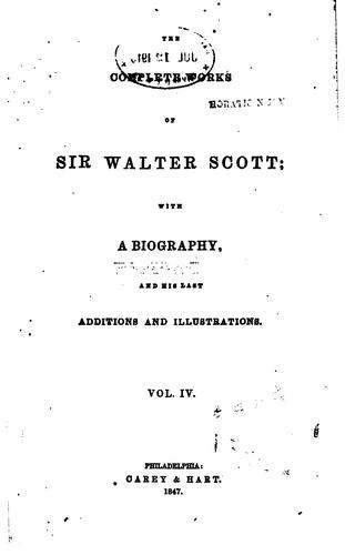 The Waverley Novels: With the Author's Last Corrections and Additions