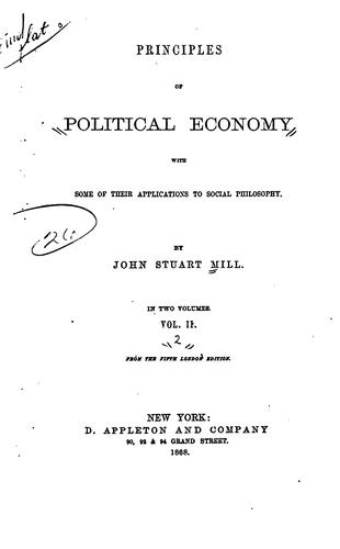 Download Principles of Political Economy: With Some of Their Applications to Social …