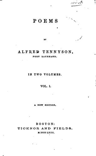 Download Poems by Alfred Tennyson