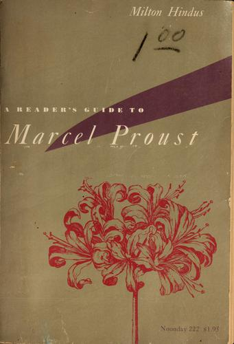A reader's guide to Marcel Proust.