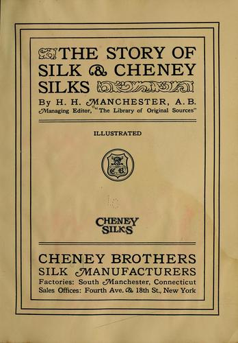 Download The story of silk & Cheney silks