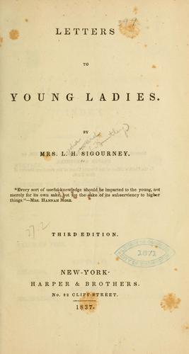 Download Letters to young ladies.