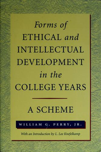 Download Forms of intellectual and ethical development in the college years