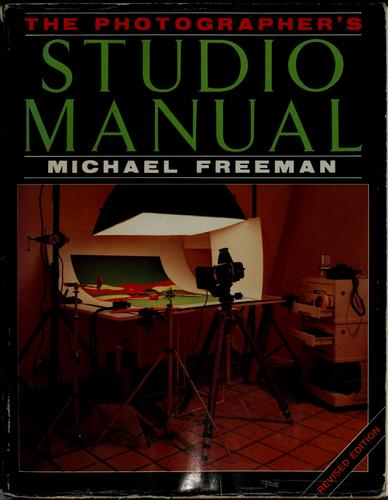 Download The photographer's studio manual